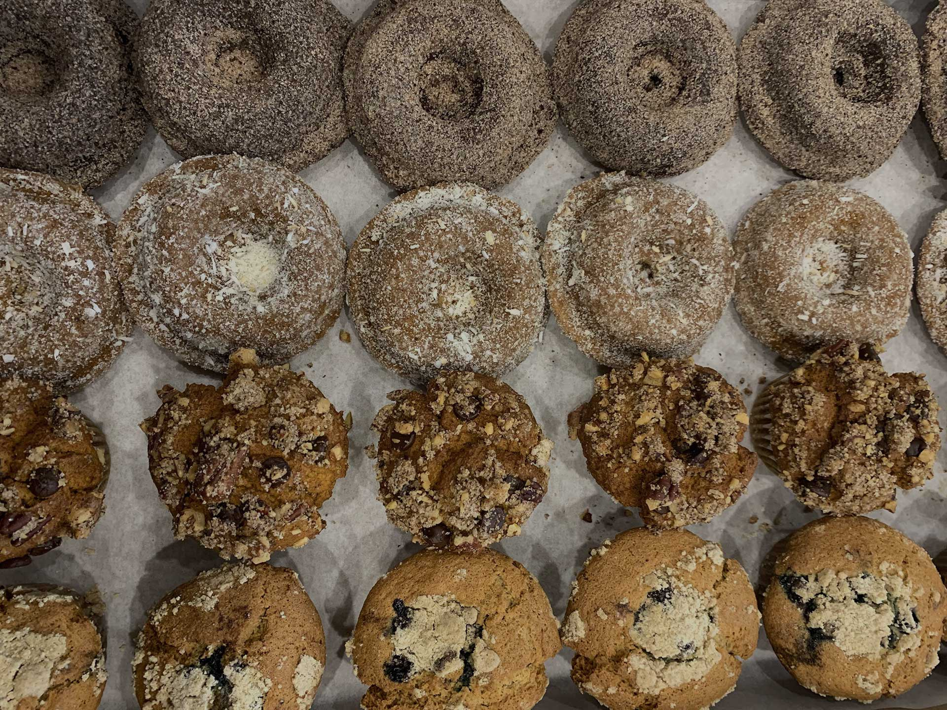 Gluten free and vegan donuts from Om Sweet Home